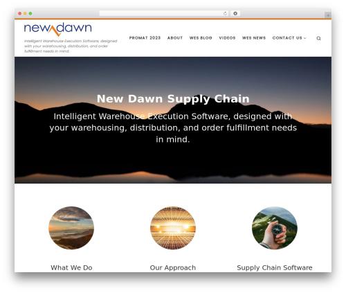 Customizr free website theme - newdawnsc.com