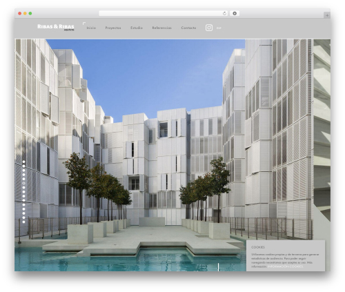 Domik theme WordPress - ribas-arquitectos.com