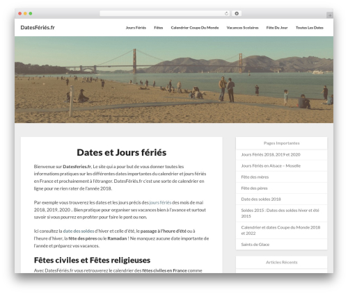Newsbuzz WordPress template free - datesferies.fr
