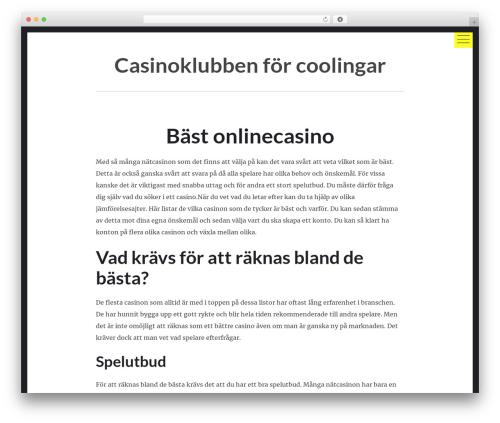 hexo theme WordPress - coolcasinosclub.com