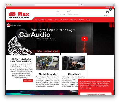 Rémy WordPress page template - dbmax.pl