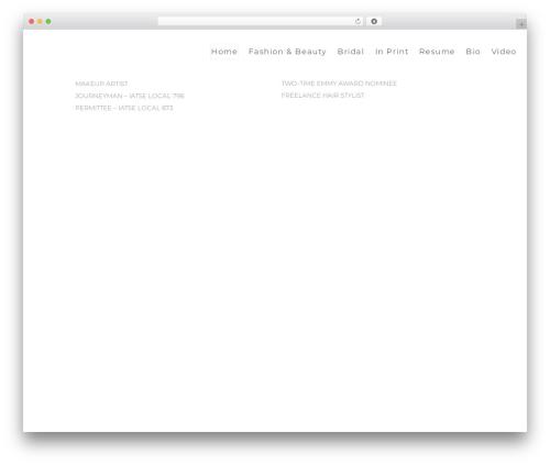 SohoPRO template WordPress - robinwatsonhamilton.com