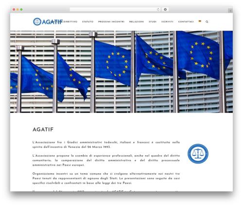 Theme WordPress Stockholm - agatif.org