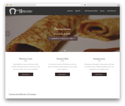 Customizr WordPress theme free download - laherradurarestaurante.com