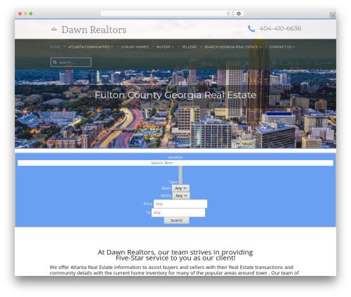 ESTA WordPress theme - dawnrealtors.com