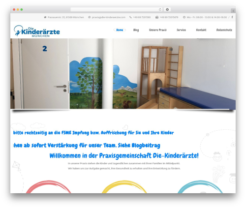 InMedical premium WordPress theme - die-kinderaerzte.com