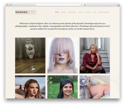 Photojax top WordPress theme - desiredspirit.com