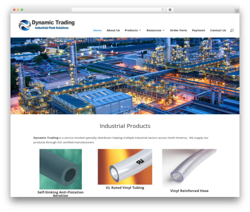 Divi theme WordPress - dynamictrading.net