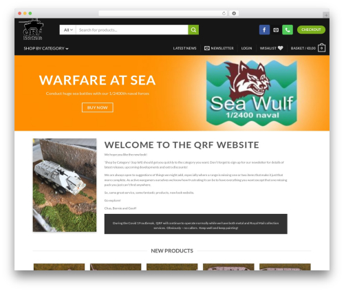 Flatsome WordPress website template - quickreactionforce.co.uk