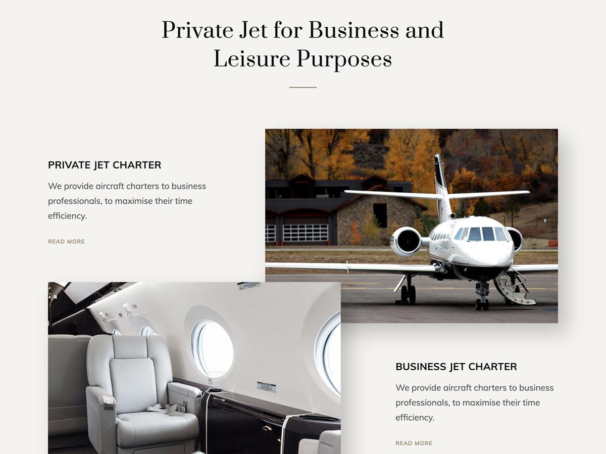 Jet One company WordPress theme