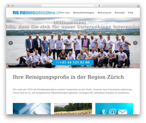 Total free website theme - rs-reinigungen.ch