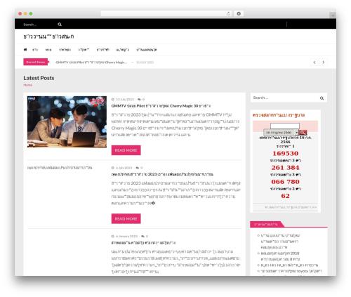 VMagazine Lite WordPress news template - donlephotos.com
