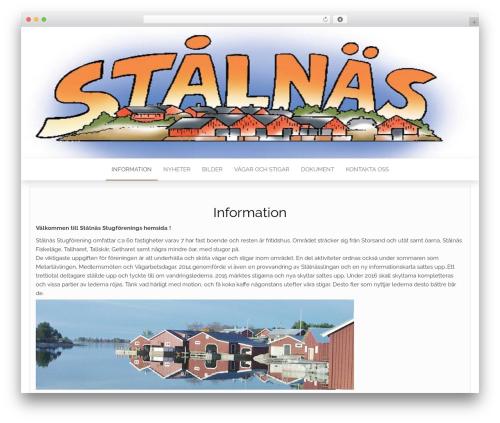 Head Blog WordPress blog template - stalnas.com