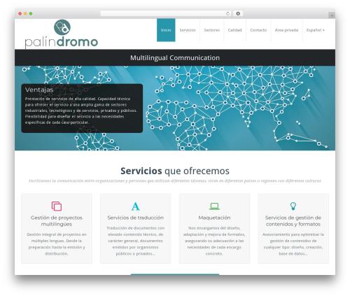Theme WordPress BusiProf Pro - palindromo.com