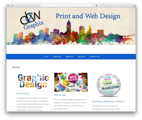 WordPress theme Dara - dewgraphix.net