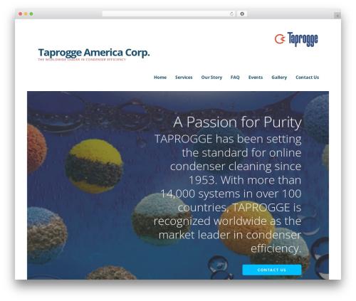 Ascension WordPress theme - taproggeamerica.com