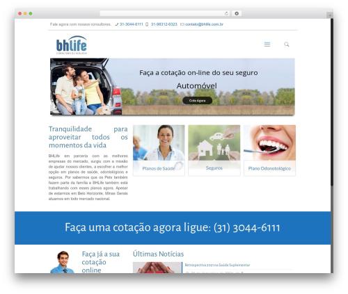 Best WordPress theme Betheme - bhlife.com.br