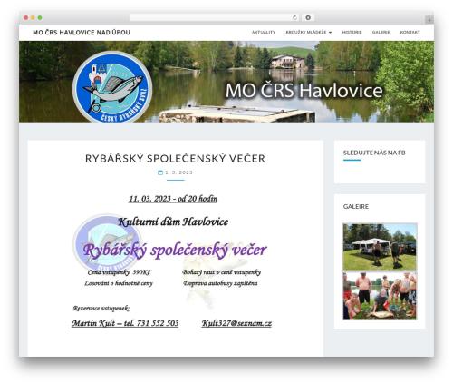 Nisarg template WordPress - mocrshavlovice.cz