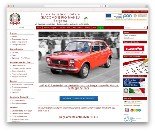 PASW 2015 premium WordPress theme - liceoartisticobergamo.gov.it