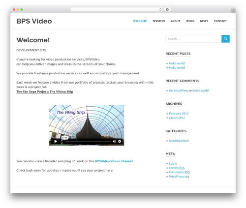 Poseidon theme WordPress free - dev.bpsvideo.com