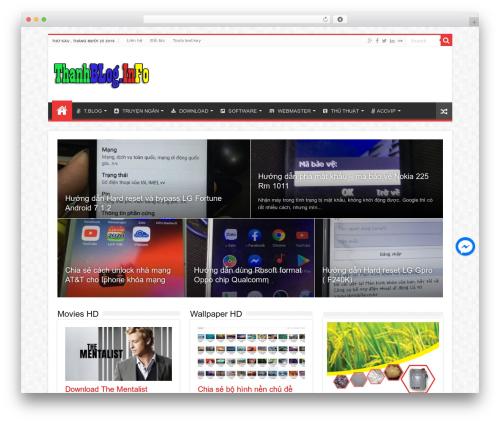 Sahifa (shared on wplocker.com) WordPress website template - thanhblog.info
