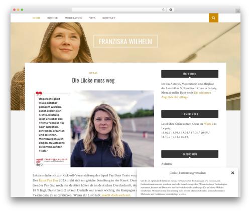 Theme WordPress Bulan - franziska-wilhelm.de