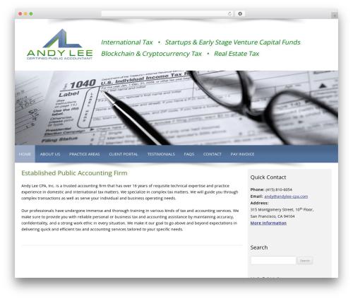 Theme WordPress Customized - andylee-cpa.com