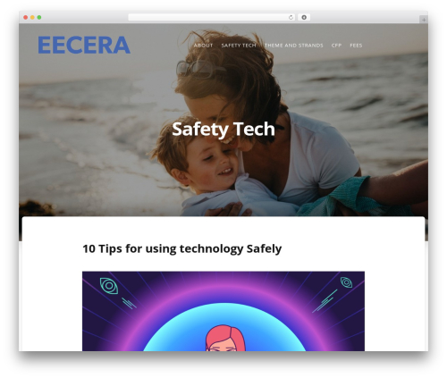 Typit premium WordPress theme - eecera2017.org