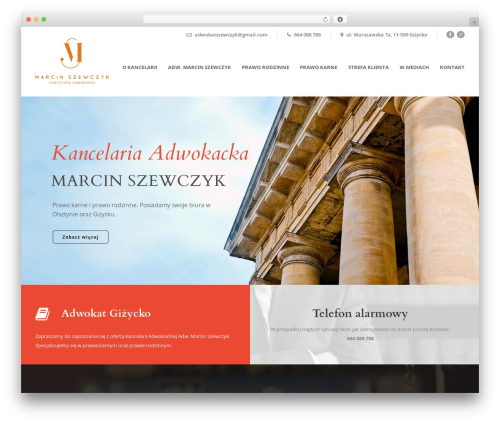 WP template Lawyer Base - adwokatgizycko.com