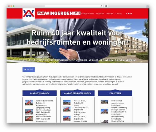 Betheme WordPress theme - vanwingerden.nu