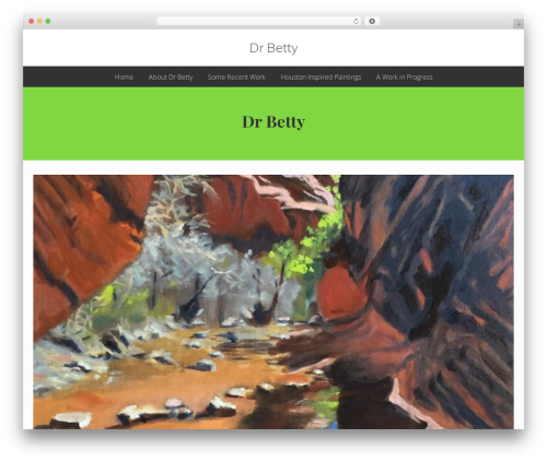 Genesis theme WordPress - drbettyart.com