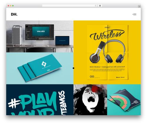 Ottar theme WordPress - danherrington.com