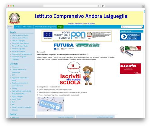 PASW 2015 WordPress theme - icandoralaigueglia.net