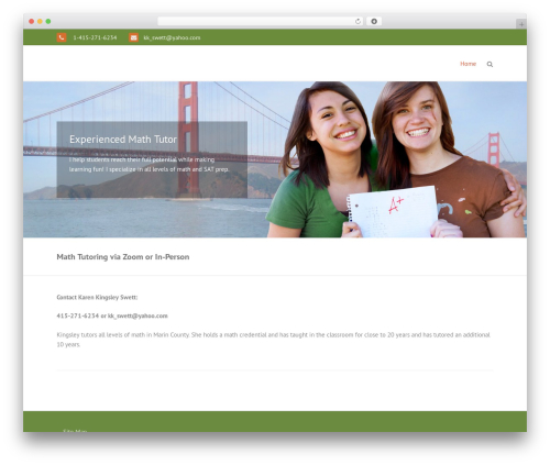 THBusiness Pro template WordPress - stepaheadtutoring.net