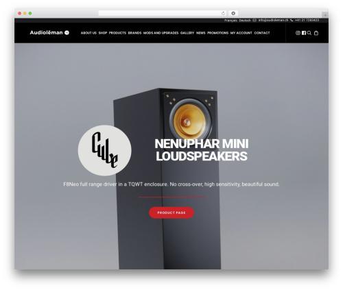 WordPress woocommerce_postfinancecw plugin - audioleman.ch