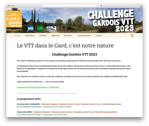 Twenty Thirteen top WordPress theme - challengegardoisvtt.fr