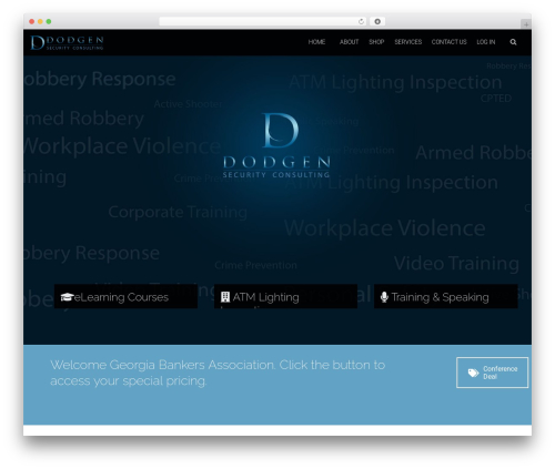 Acorn WordPress theme - dodgensecurity.com