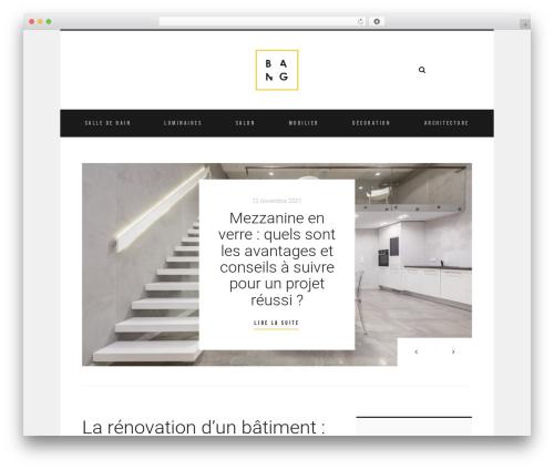 WordPress theme Room - bangarchitectes.fr