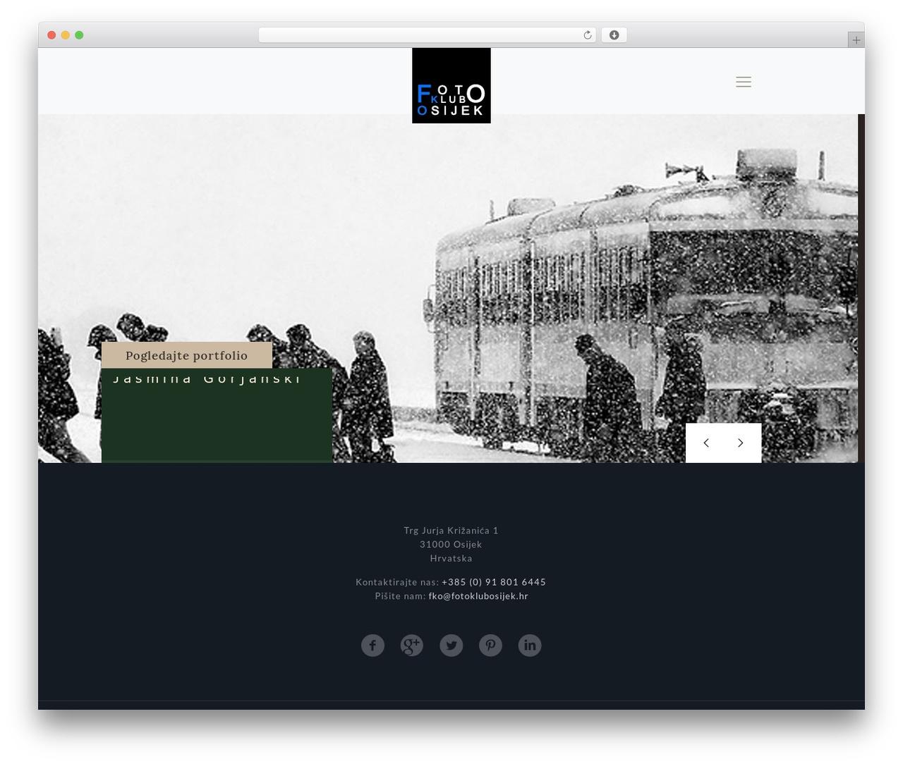 Betheme template WordPress - fotoklubosijek.hr