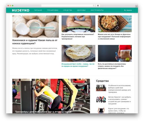 Codilight premium WordPress theme - hudeyko.ru