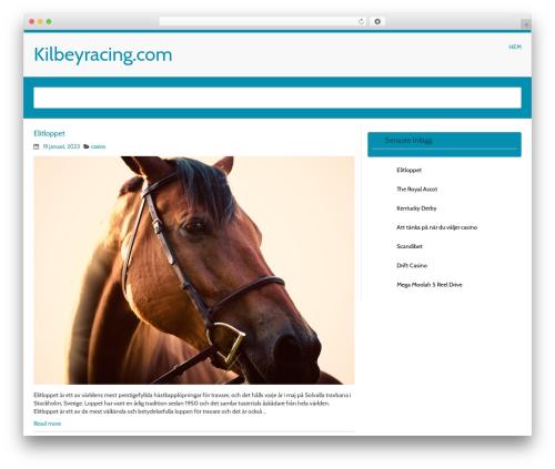 MyWiki free WP theme - kilbeyracing.com