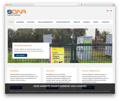 Oncourse WordPress theme - sdna.nl