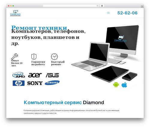 Template WordPress Betheme - kompservice39.ru