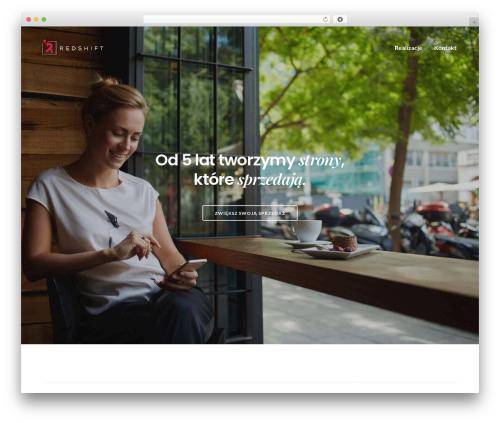 Template WordPress Revolution - redshift.pl