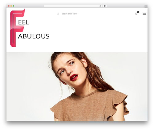 WordPress theme Oasis - feelfabulous.net