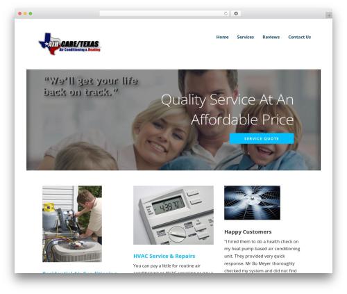Ascension WordPress theme - aircaretexas.com
