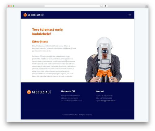 Best WordPress template Betheme - geodeesiaou.ee