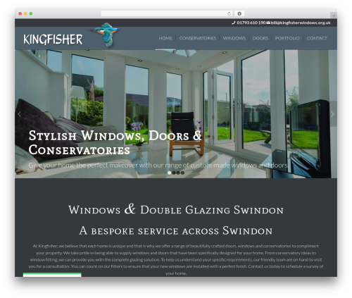 Plus WordPress page template - kingfisherwindows.org.uk