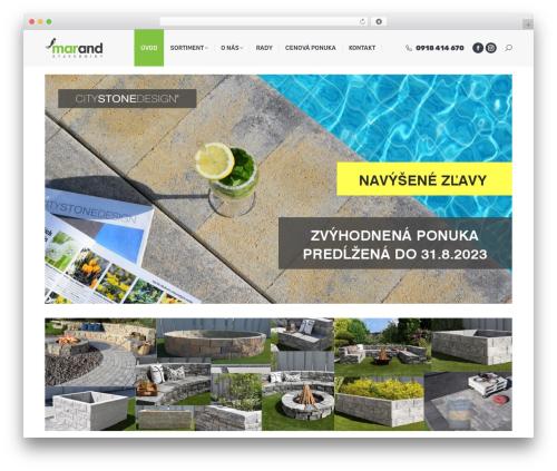 The7 theme WordPress - marand.sk