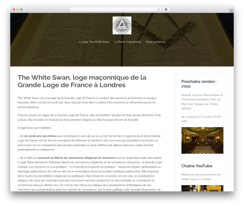 Best WordPress theme Sydney - lodgethewhiteswan.org